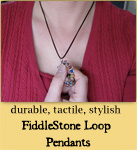 FiddleStone Loop Pendants